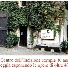 40 anni e oltre – Centro dell'Incisione – Milano