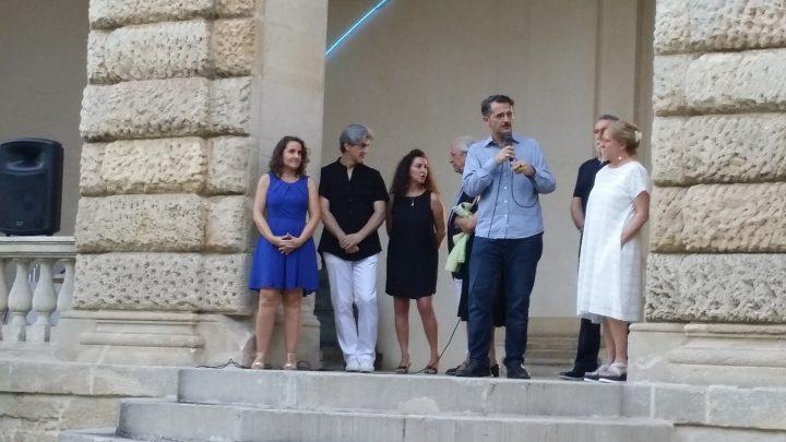 Presentazione della VII edizione d'Arte contemporanea a Villa Pisani Bonetti Bagnolo di Lonigo 24 giugno 2016